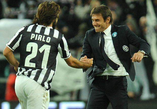 pirlo and conte