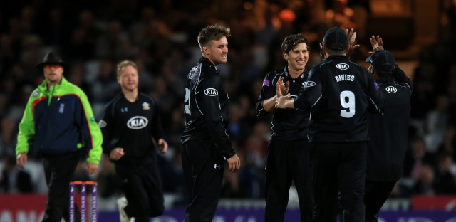 Cricket - Royal London One Day Cup - Quarter Final - Surrey v Kent - The Kia Oval